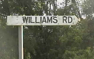 Williams Road Barkersvale, the road that leads to the Border Ranges National Park, Northern N.S.W